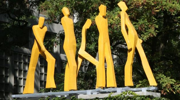Skulpturen