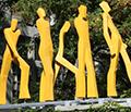 Skulptur Höhe 6m